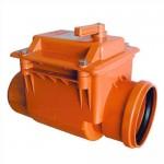 Обратный канализационный клапан (д110)