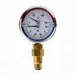 Термоманометр 1/2-120*C-10 bar